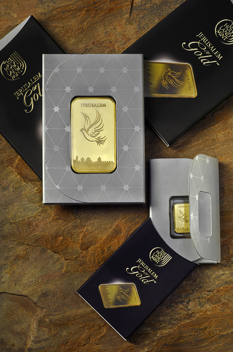 Gold bar packages